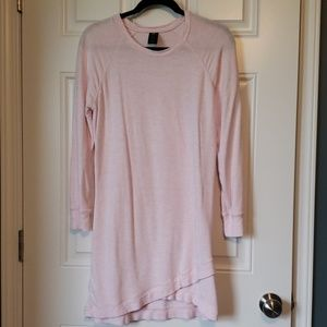 Pink active wear sweat shirt